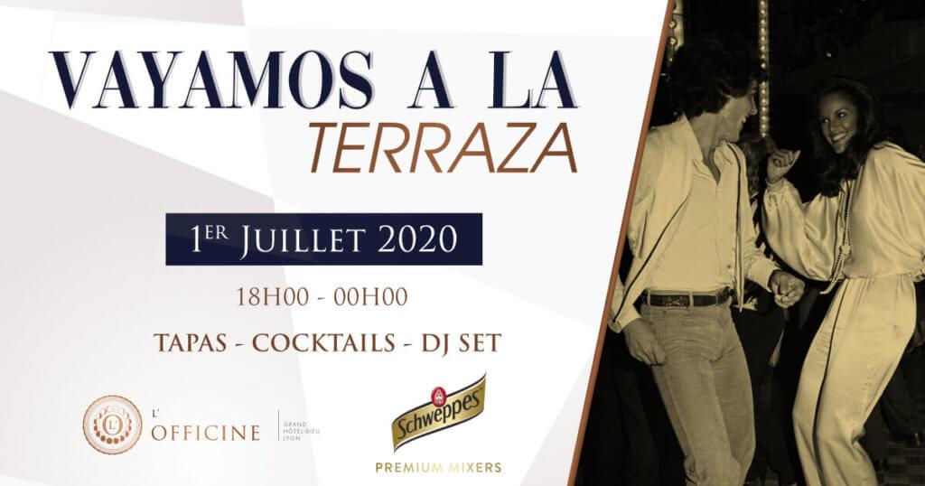 Soirée à l'Officine - Bar à cocktail Lyon - Grand Hôtel-Dieu
