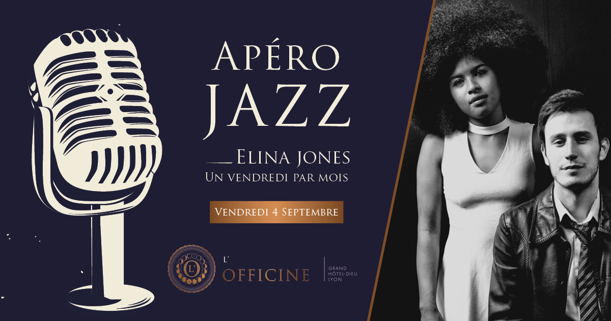 Apéro Jazz L'Officine Bar à cocktails Lyon