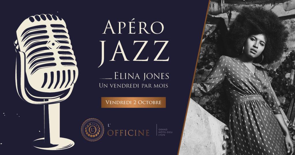 Apéro Jazz L'Officine Grand Hôtel-Dieu