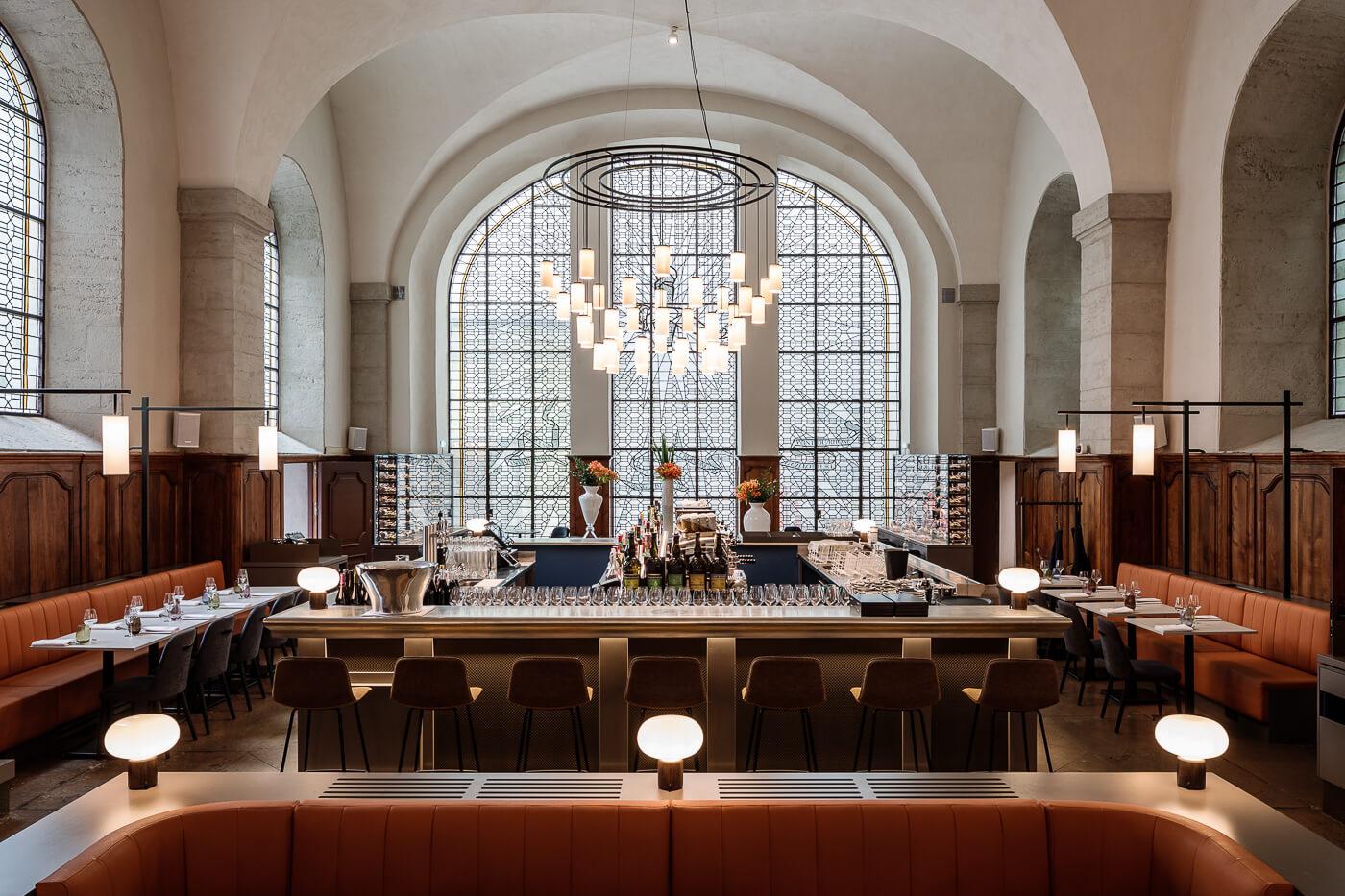 Le Grand Réfectoire Grand Hotel Dieu Lyon restaurant