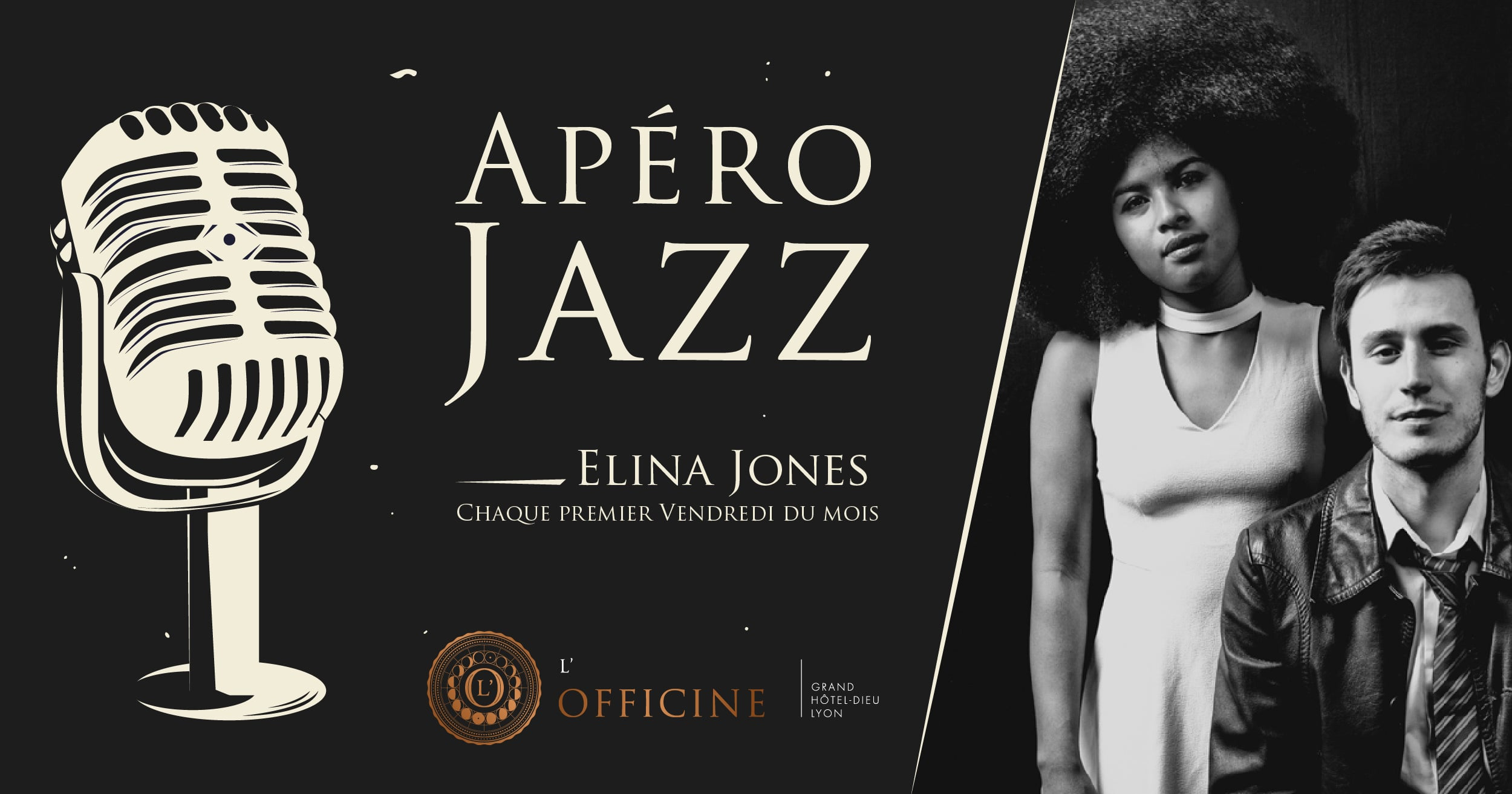 Apéro Jazz L'Officine Grand Hôtel-Dieu Bar à cocktails Lyon