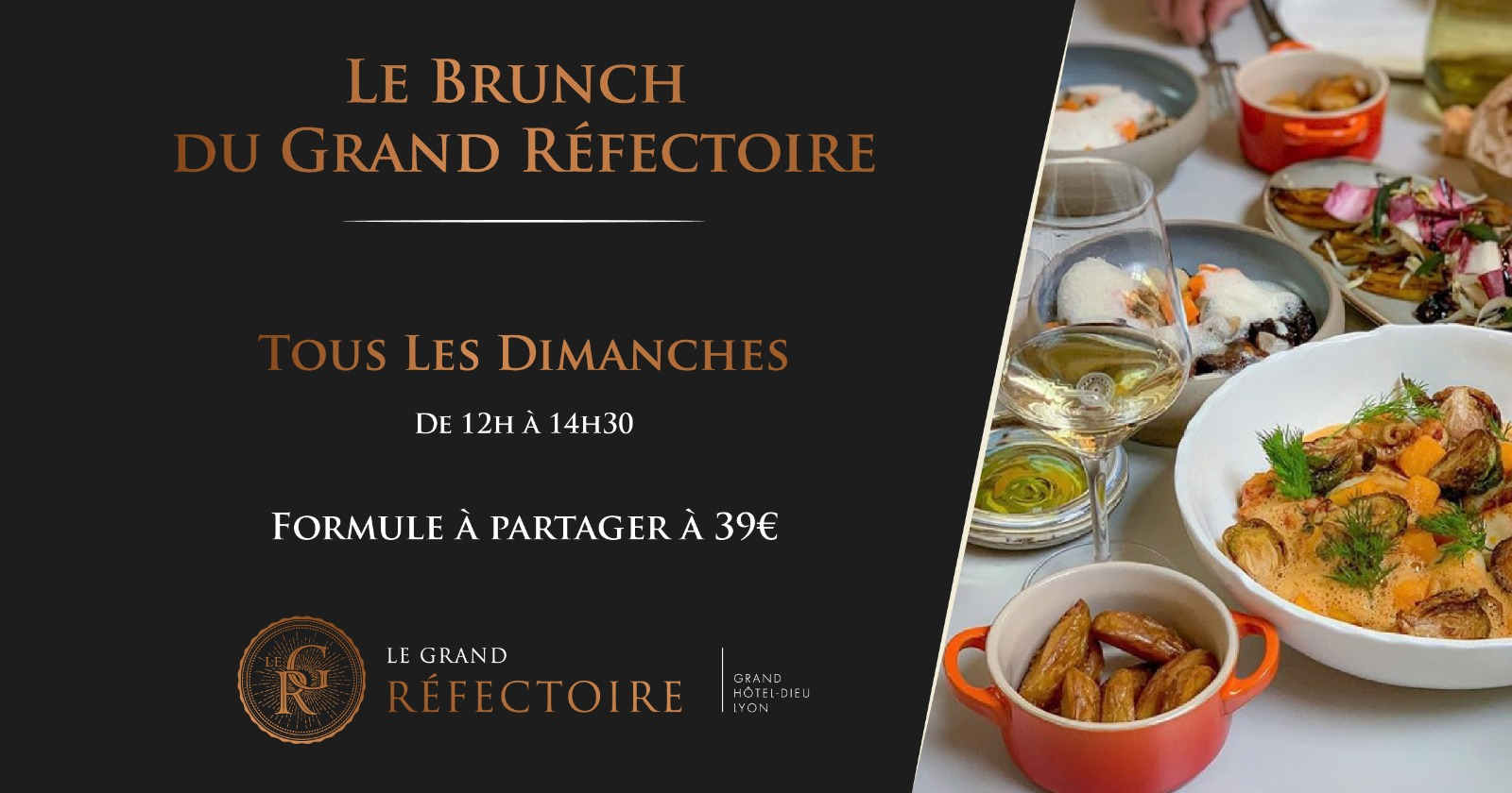 Brunch du Grand Réfectoire