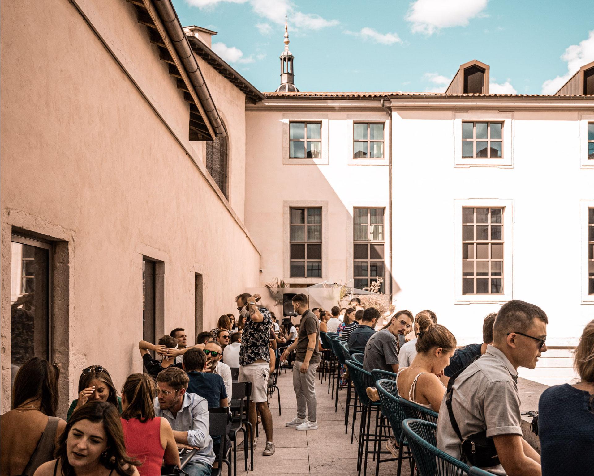 L'Officine Bar à cocktails Grand Hôtel Dieu Lyon