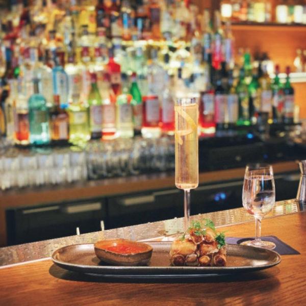 Tapas à L'Officine Bar à cocktails Grand Hôtel-Dieu Lyon
