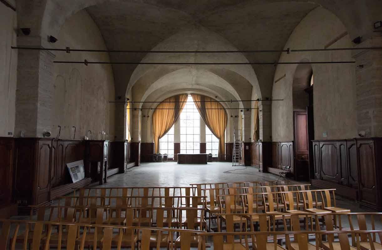 Histoire Le Grand Réfectoire L'Officine Grand Hôtel-Dieu 2