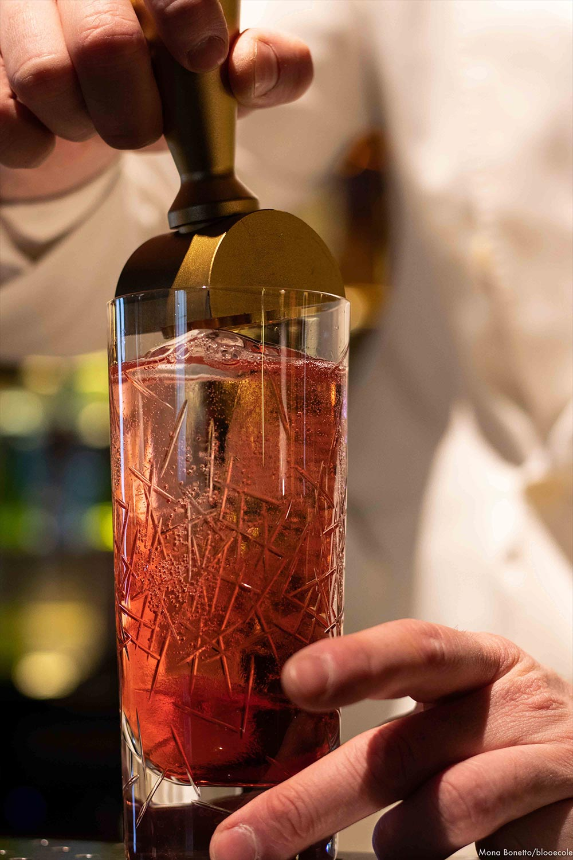 Boisson du Bar à cocktails L'Officine Lyon Grand Hôtel-Dieu