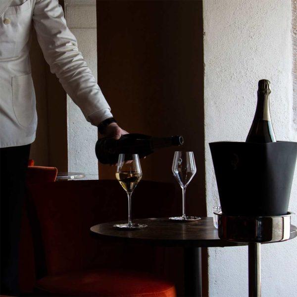 Champagne restaurant Le Grand Réfectoire Grand Hôtel Dieu Lyon