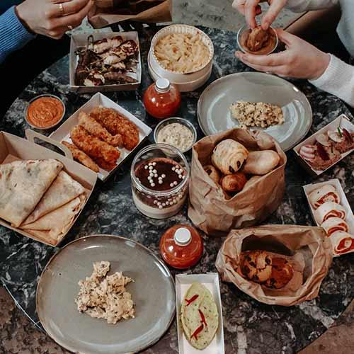 Paniers canailles le grand refectoire restaurant