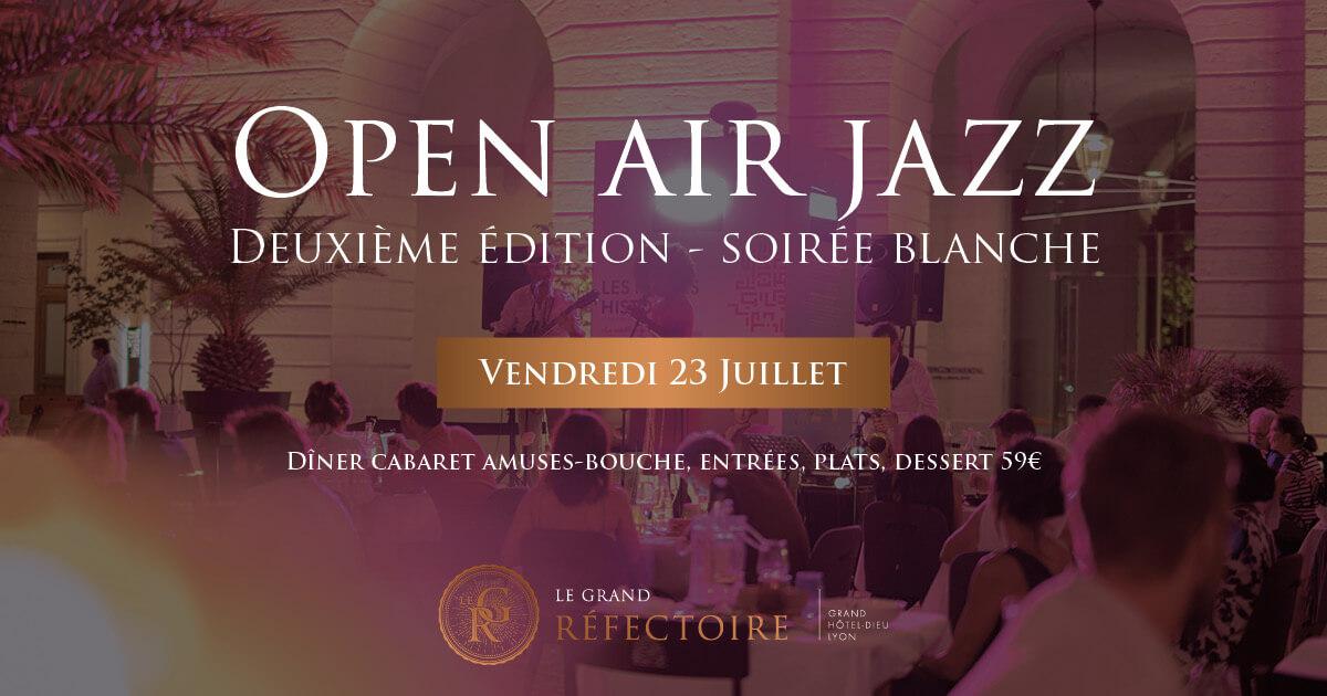 Open Air Jazz Le Grand Réfectoire Lyon